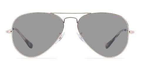 Lunettes de soleil avec des lunettes grises