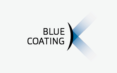 Pearle Blue Coating logo
