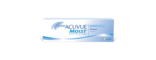 1-Day Acuvue Moist daglenzen