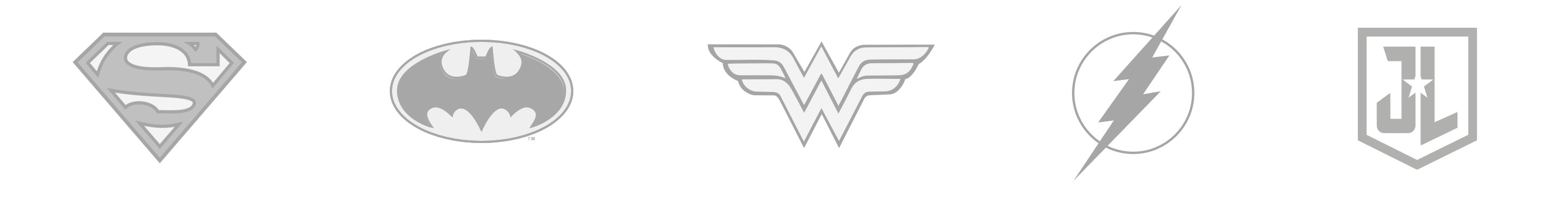 DC Comics Superhero Logos