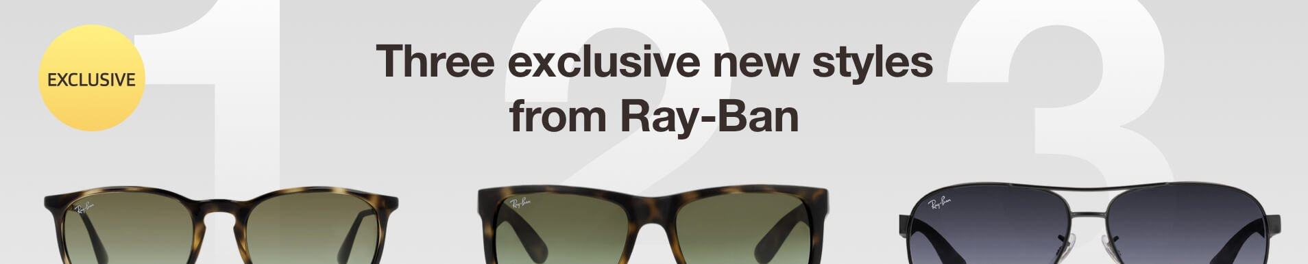 Exclusive Vision Express Ray-Ban sunglasses