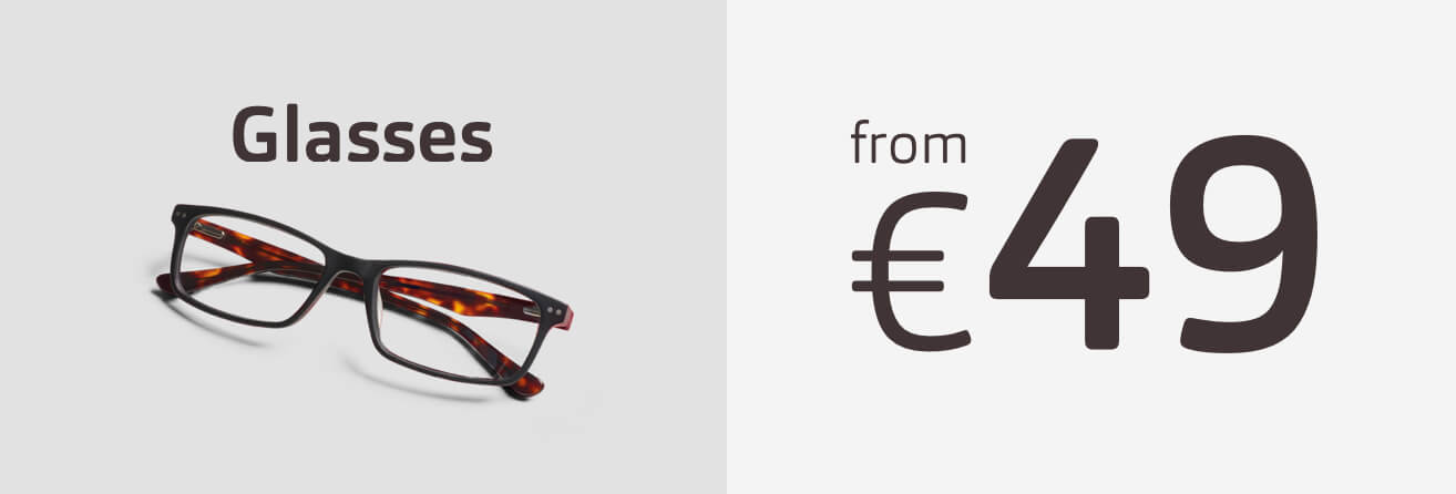 Glasses from 49 Euros