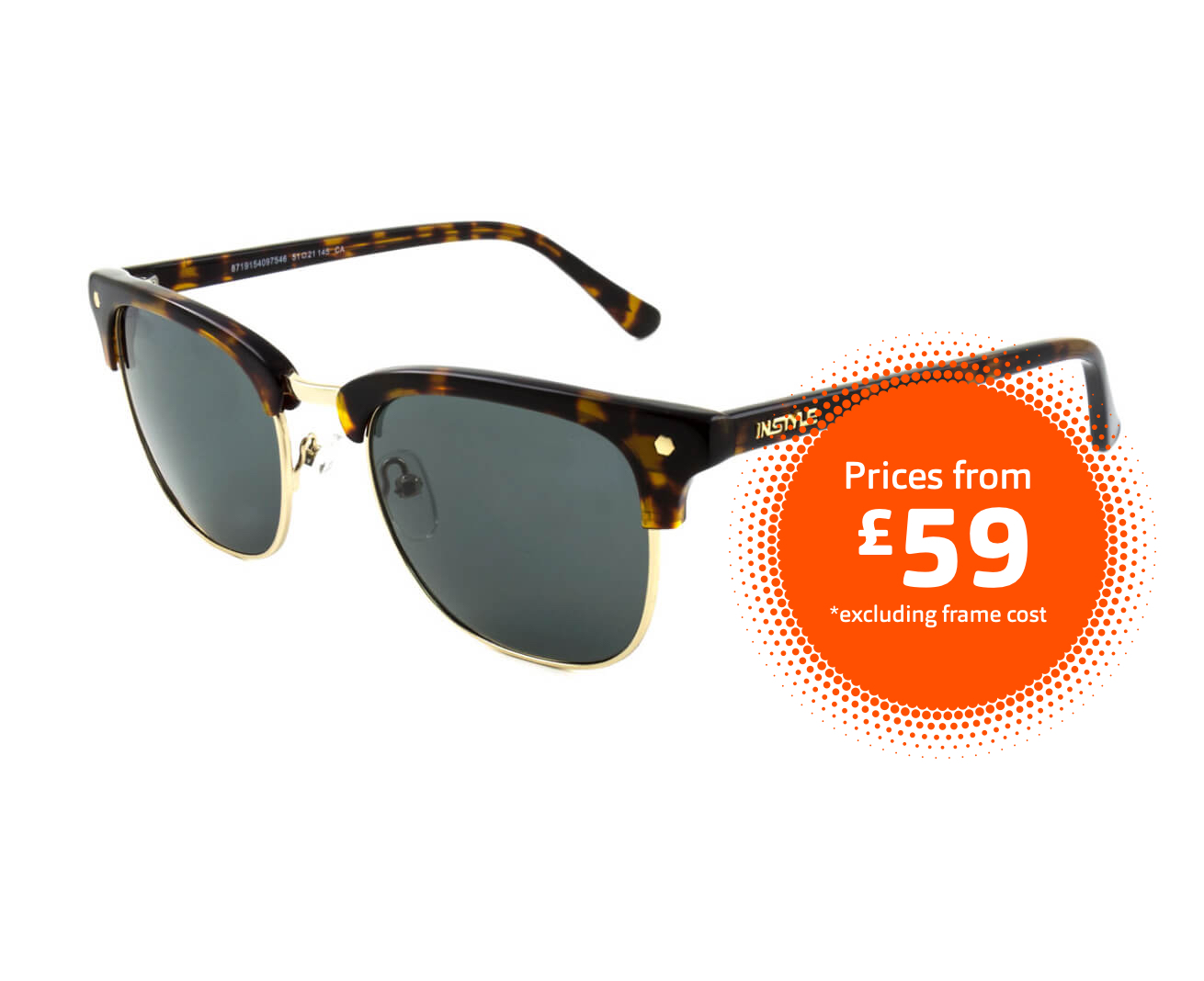 Sunglasses frames from £59