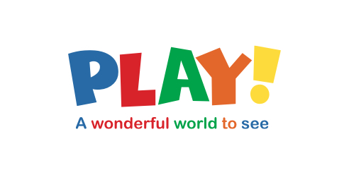 Multicoloured Play logo