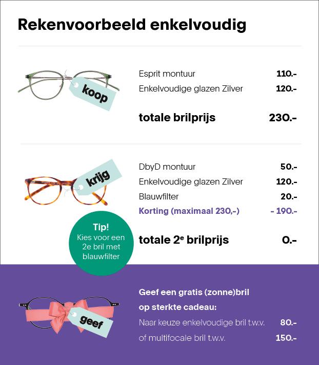3 brillen voor de prijs van 1 | Pearle Opticiens