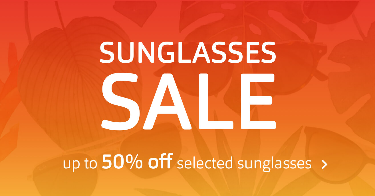 Sunglasses Sale - Up to 50% off selected sunglasses