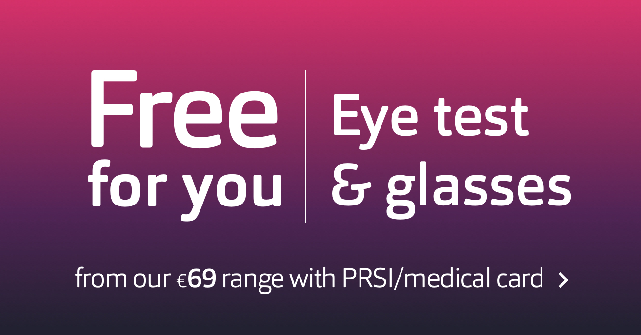 PRSI medical card - Free eye test