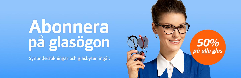 Glasögonabonnemang Glasögon All Inclusive | Synoptik
