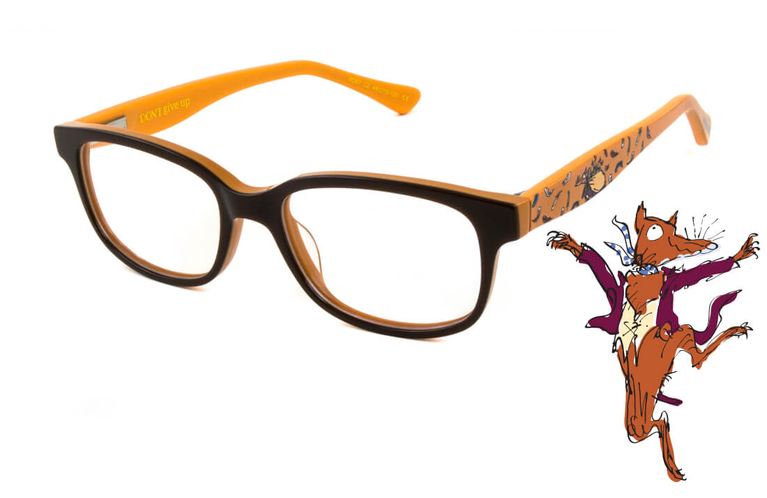 Roald Dahl - Fantastic Mr Fox Prescription Kid's Glasses